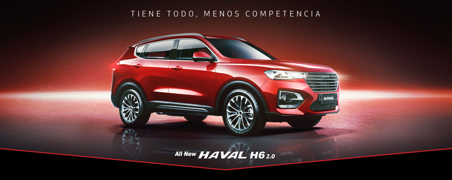 All New Haval H6 2.0 4x2 Elite AT