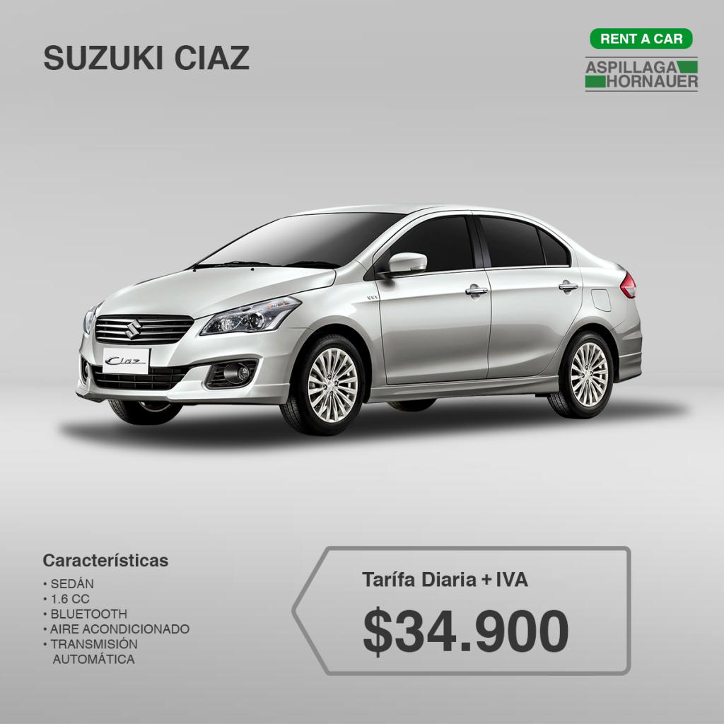 Suzuki Ciaz ATM